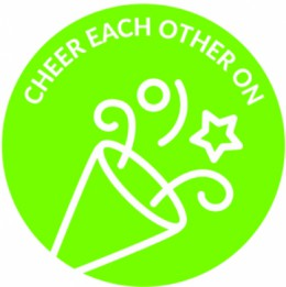 The Power of One: Cheer Each Other On